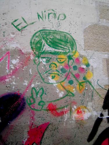 graffiti dans le Marais